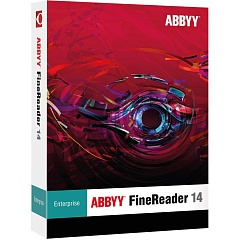 abbyy finereader 14 enterprise (per seat) (лицензия для организации)